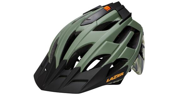 Lazer Oasiz Cykelhjelm grøn/sort